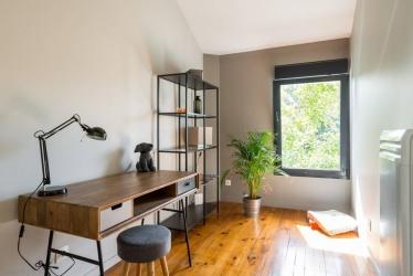 maison transformée en appartement